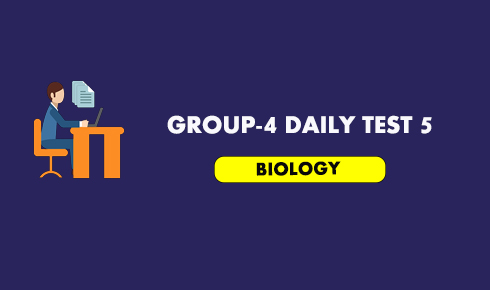 GROUP-4 DAILY TEST 5