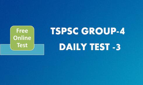 group 4 mock test