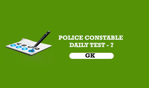 POLICE CONSTABLE ONLINE MOCK TEST