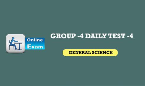 Group -4 online exam
