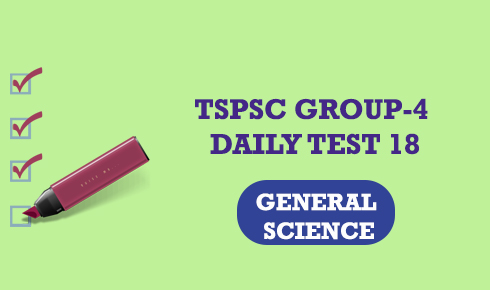 TSPSC GROUP-4 DAILY TEST 18