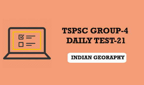 TSPSC GROUP-4 DAILY TEST 21