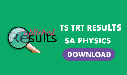TRT SA PHYSICS RESULTS