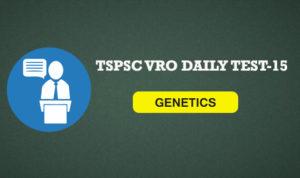 TSPSC VRO DAILY TEST 15