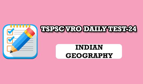 TSPSC VRO DAILY TEST 24