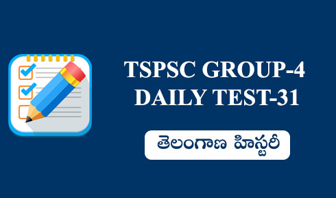 TSPSC GROUP-4 DAILY TEST 31