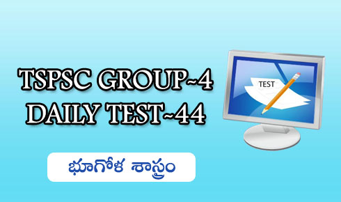 TSPSC GROUP-4 DAILY TEST-44