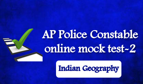 AP Police Constable online mock test-2
