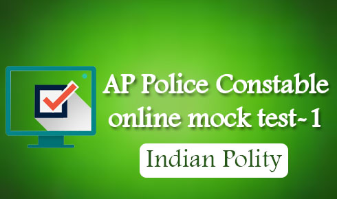 AP Police Constable online mock test-1