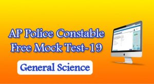 AP Police Constable Free Mock Test-19