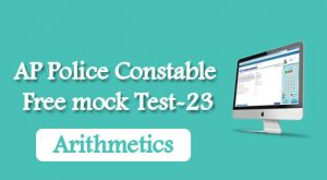AP Police Constable Free mock Test-23