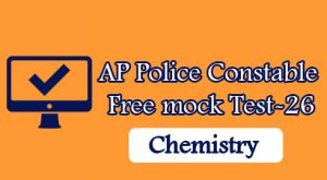 AP Police Constable Free mock Test-26
