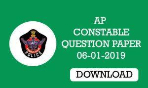 ap constable prelims question paper 2019