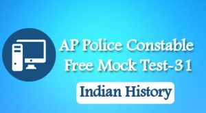 AP Police Constable Free Mock Test-31
