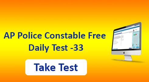 AP Police Constable Free Mock Test-33