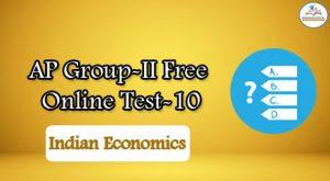AP Group-II Free Online Test-10
