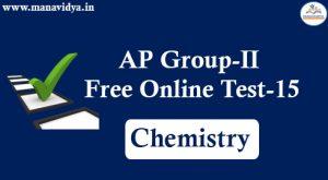 AP Group-II Free Online Test-15