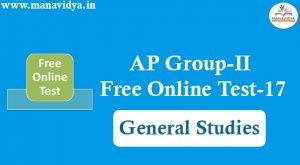 AP Group-II Free Online Test-17