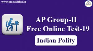 AP Group-II Online Test-18