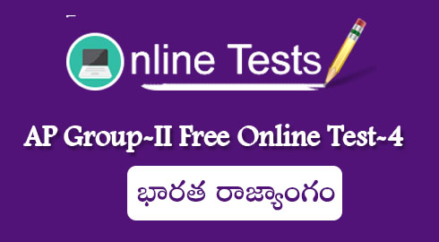 AP Group-II Free Online Test-4