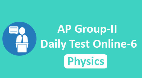AP Group-II Daily Test Online-6