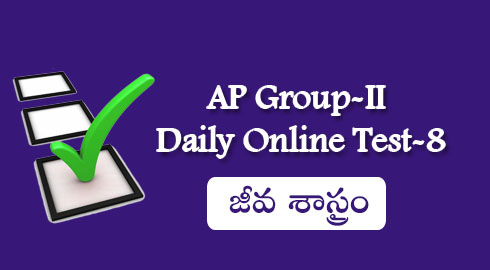 AP Group-II Daily Online Test-8
