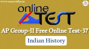 AP Group-II Free Online Test-37