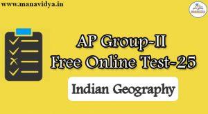 AP Group-II Free Online Test-25