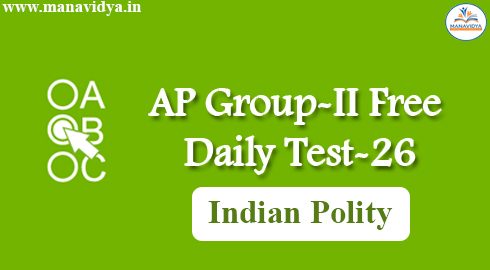 AP Group-II Free Daily Test-26