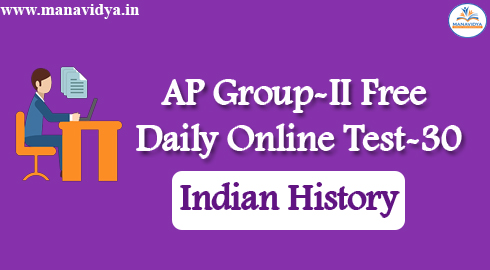 AP Group-II Free Daily Online Test-30