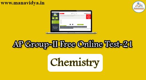 AP Group-II Free Online Test-21