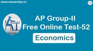 AP Group-II Free Online Test-52
