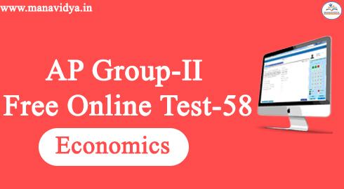 AP Group-II Free Online Test-58
