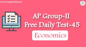AP Group-II Free Daily Test-45