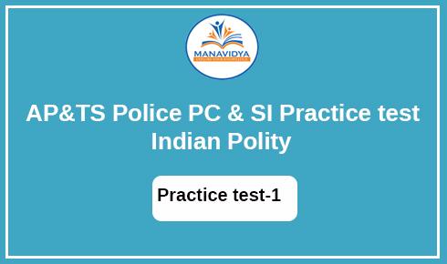 AP &TS POLICE Exam practice test -13